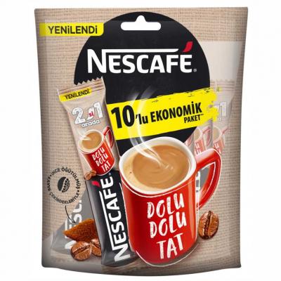 Nescafe 2'si 1 Arada Hazır Kahve 10 Adet