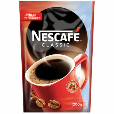 Nescafe Classic Kahve Poşet 200gr