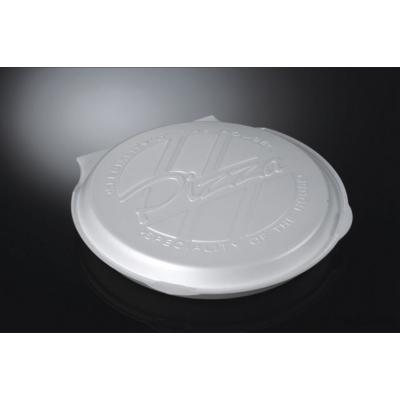 Köpük Pizza Kutusu Kapaklı Mod14/A-100'Ad