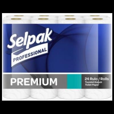 Selpak Professional Premium Tuvalet Kağıdı 3 Katlı 24'Lü