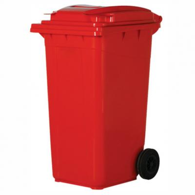 Çöp Konteyneri Plastik Renkli 120Lt