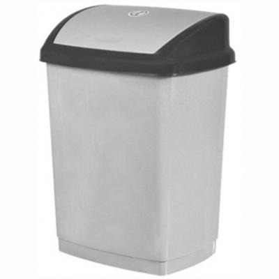 İtme Kapaklı Çöp Kovası XL-70Lt