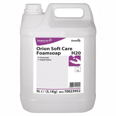 Diversey Köpük Sıvı El Yıkama Ürünü Orion Soft Care Foamsoap H20-5Lt