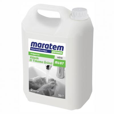 Maratem Köpük Sıvı El Yıkama Ürünü M107-5Lt