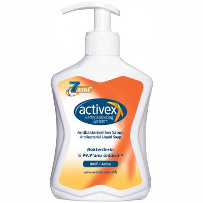 Activex Antibakteriyel Sıvı Sabun Aktif-Active 300ml
