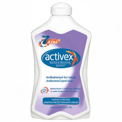 Activex Antibakteriyel Sıvı Sabun Hassas-Sensitive 1500ml