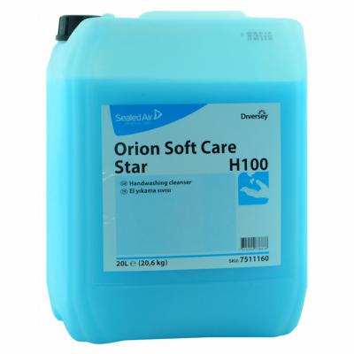 Diversey Sıvı El Yıkama Ürünü Orion Soft Care Star H100-20Lt