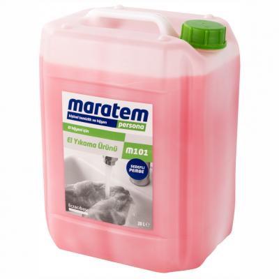 Maratem Sıvı El Yıkama Ürünü Sedefli Pembe M101-20Lt