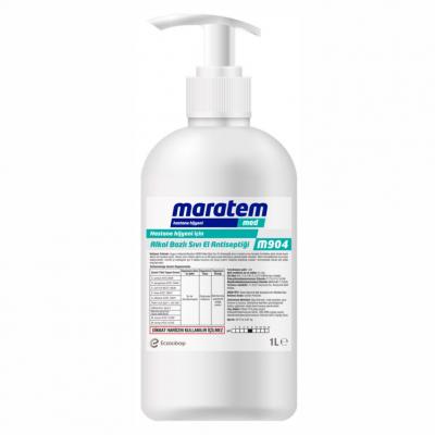 Maratem Alkol Bazlı El Antiseptiği M904-1Lt