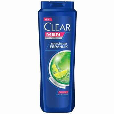 Clear Şampuan Men Yağlı Saç Derisi İçin Maksimum Ferahlık Limon Özlü 500ml