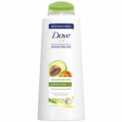 Dove Şampuan Dökülme Karşıtı Avakado Kalendula Özlü 600ml
