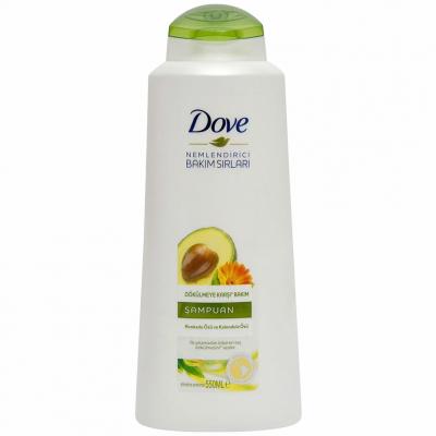 Dove Şampuan Avokado Kalendula Özlü 550ml