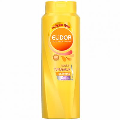 Elidor Şampuan Saç Bakım İpeksi Yumuşaklık 650ml