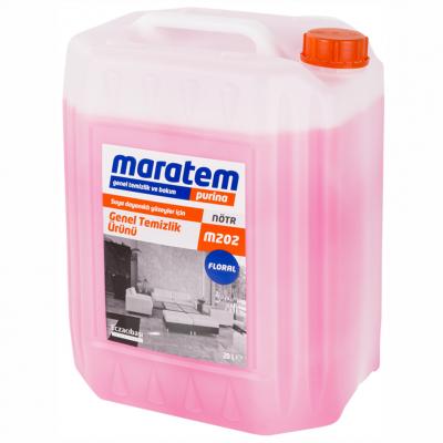 Maratem Genel Temizlik Ürünü Floral M202-20Lt