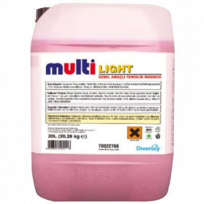 Diversey Multi Light Genel Temizlik Ürünü 20Lt