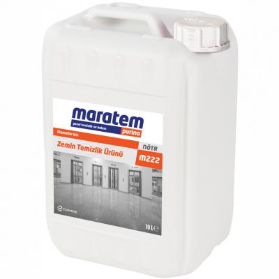 Maratem Otomatlar İçin Zemin Temizlik Ürünü M222-10Lt