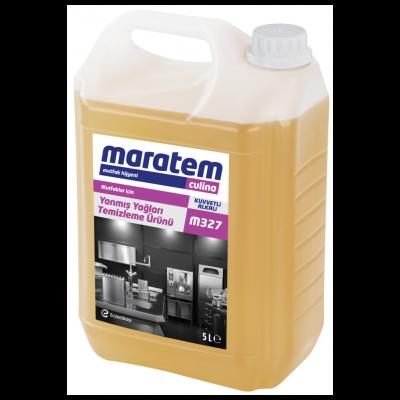Maratem Yanmış Yağları Temizleme Ürünü M327-5Lt