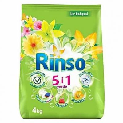 Rinso Matik Toz Çamaşır Deterjanı Kır Bahçesi 4Kg